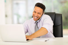 Mid age business executive Royalty Free Stock Photography