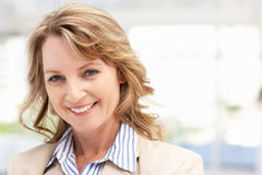 Mid age businesswoman Royalty Free Stock Photo