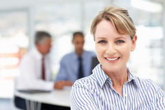 Mid age businesswoman Royalty Free Stock Photos