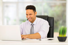 Mid age corporate worker Royalty Free Stock Photo