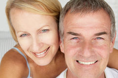 Mid age couple portrait Stock Photos