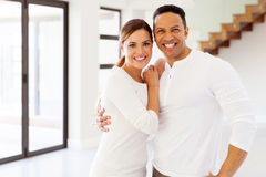 Mid age couple portrait Stock Images