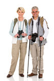 Mid age couple standing Royalty Free Stock Image