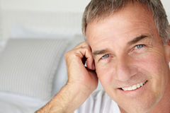 Mid age man portrait  Royalty Free Stock Image