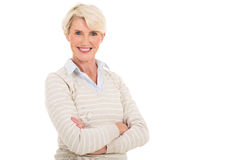 Mid age woman Stock Photos