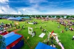 Mid-Autumn activities of youths in Vietnam Stock Photos