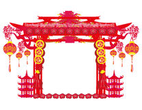 Mid-Autumn Festival for Chinese New Year frame Royalty Free Stock Images