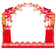Mid-Autumn Festival for Chinese New Year - frame Stock Photos