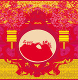Mid-Autumn Festival for Chinese New Year. Illustration Stock Image