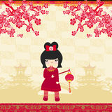 Mid-Autumn Festival for Chinese New Year. Illustration Stock Photo