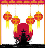 Mid-Autumn Festival for Chinese New Year. Illustration Stock Photography