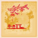 Mid-Autumn Festival for Chinese New Year Stock Photo