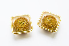The Mid-Autumn festival-diy moon cakes Stock Photography
