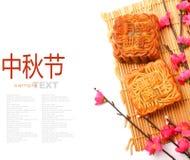 Mid-Autumn Festival moon cake Stock Image