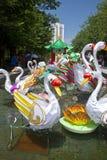 Mid-Autumn Lantern Carnival in Hong Kong Royalty Free Stock Photography