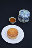 Mid-Autumn moon cake Royalty Free Stock Images