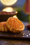 Mid autumn moon cake royalty free stock images