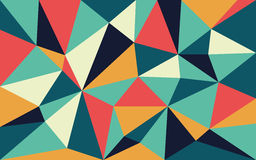 Mid century abstract background vector illustration