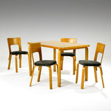 Mid Century Dining Set Royalty Free Stock Photography