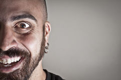 Mid-frontal portrait of smiling man Royalty Free Stock Photo