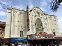 The Castro Theater, San Francisco`s most famous movie house, 4. royalty free stock image