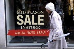 MID SEASON SALE Stock Images