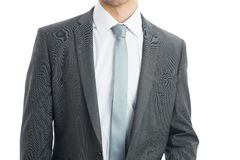 Mid section of businessman wearing suit Stock Images