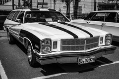 Mid-size car Buick Century Stock Images