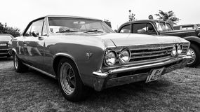 Mid-size car Chevrolet Chevelle Stock Photo