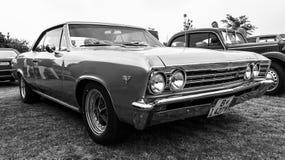 Mid-size car Chevrolet Chevelle Stock Photo