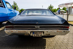 Mid-size car Chevrolet Chevelle SS396 Hardtop Coupe, 1966. Stock Photography