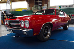 Mid-size car Chevrolet Chevelle SS3454 Hardtop Coupe Royalty Free Stock Images