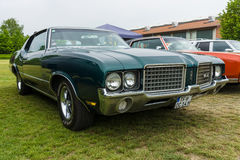 Mid-size car Oldsmobile Cutlass Supreme, 1972 Royalty Free Stock Photography