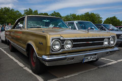 Mid-size car Plymouth Satelitte Royalty Free Stock Images