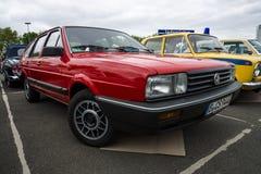Mid-size car Volkswagen Passat (B2). Stock Images