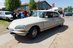 Mid-size luxury car Citroen DS Stock Photo