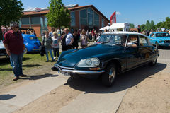 Mid-size luxury car Citroen DS Royalty Free Stock Photo