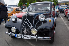 Mid-size luxury car Citroen Traction Avant Stock Photography