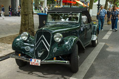 Mid-size luxury car Citroen Traction Avant Stock Image