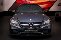 Mid-size luxury car Mercedes-AMG E63 S4MATIC T-Modell Stock Images