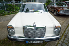 Mid-size luxury car Mercedes-Benz 250CE (W114), 1971 Royalty Free Stock Photography