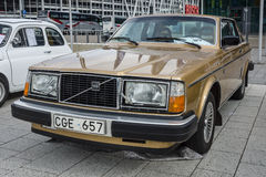 Mid-size luxury car Volvo 262C by Bertone, 1979. Royalty Free Stock Photo