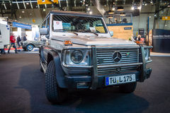 Mid-size luxury SUV Mercedes-Benz 300 GD, 1990. Stock Image