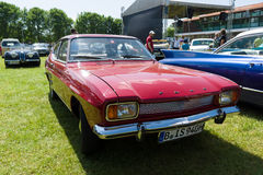 Mid-size sports car Ford Capri 1600 Mark 1 Stock Photo