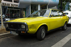 Mid-size sports car Renault 15 TL, 1974 Royalty Free Stock Photos