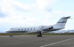 Mid Sized Corporate Jets Stock Images