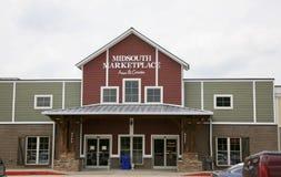 Mid-South Market Place, Millington, TN Stock Image