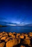 Mid Summer Night. Tranquil mid summer night on the Swedish coast Stock Photography