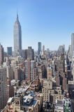 Mid-town Manhattan cityscape Royalty Free Stock Photo
