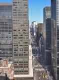 Mid-town Manhattan cityscape Stock Image